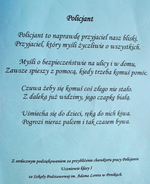 Bartoszyce Uczniowie Odwiedzają Bartoszycką Komendę Policji